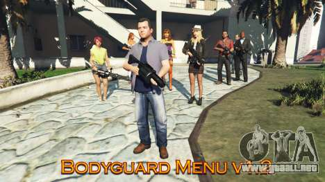 GTA 5 Bodyguard Menu v1.5