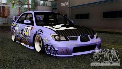 Subaru Impreza WRX STI 5pb Itasha para GTA San Andreas