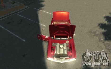 GTA 3 Yardie Lobo HD para GTA 4 vista hacia atrás