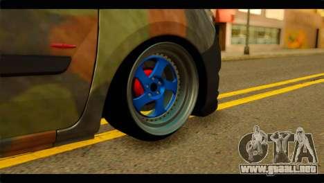 Mercedes-Benz Citan Stance para GTA San Andreas vista posterior izquierda