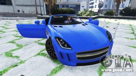 Mortal de puerta de coche para GTA 5