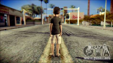 Dante Brother Child Skin para GTA San Andreas segunda pantalla