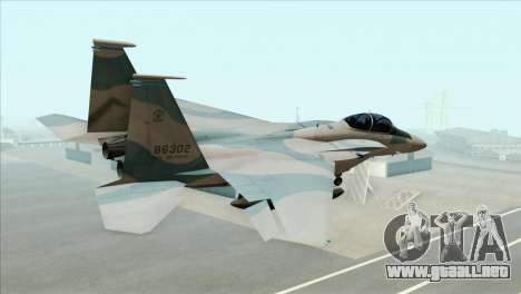 McDonnell Douglas F-15D Philippine Air Force para GTA San Andreas left
