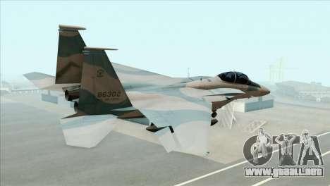 McDonnell Douglas F-15D Philippine Air Force para GTA San Andreas left