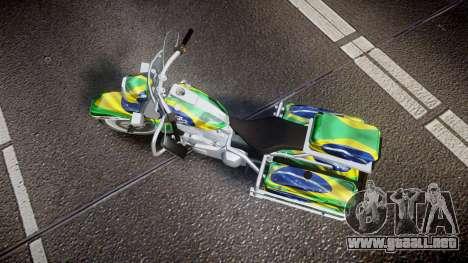 GTA V Western Motorcycle Company Sovereign BRA para GTA 4 visión correcta