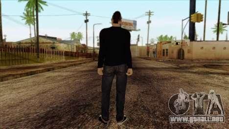 Skin 1 from GTA 5 para GTA San Andreas segunda pantalla