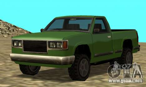 PS2 Yosemite para GTA San Andreas