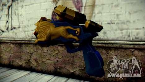 Hyper Magnum Kamen Rider Beast para GTA San Andreas segunda pantalla