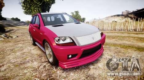 GTA V Benefactor Serrano para GTA 4