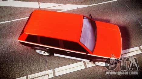 Vapid Huntley Sport RS para GTA 4 visión correcta