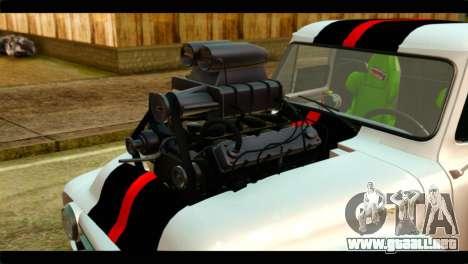 Ford F-100 para la visión correcta GTA San Andreas