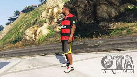 Flamengo T-Shirt - Camisa do Flamengo de 2000-01 para GTA 5