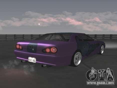 Elegy Paintjobs para visión interna GTA San Andreas