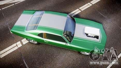 Declasse Sabre GT SS para GTA 4 visión correcta