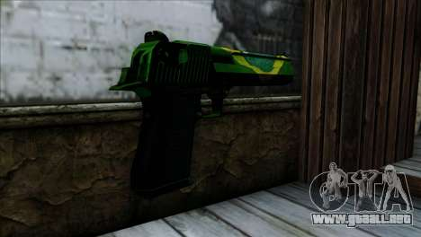 Desert Eagle Brazil para GTA San Andreas segunda pantalla