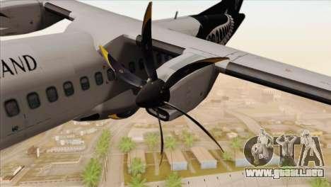 ATR 72-500 Air New Zealand para la visión correcta GTA San Andreas