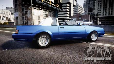 Willard Faction Turbo T para GTA 4 left