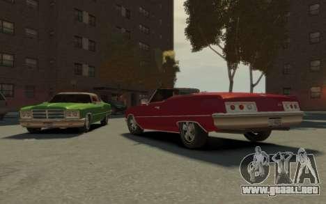 GTA 3 Yardie Lobo HD para GTA 4 vista interior