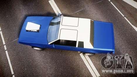 Willard Faction Turbo T para GTA 4 visión correcta