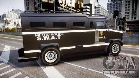 GTA V Brute Police Riot [ELS] skin 5 para GTA 4 left
