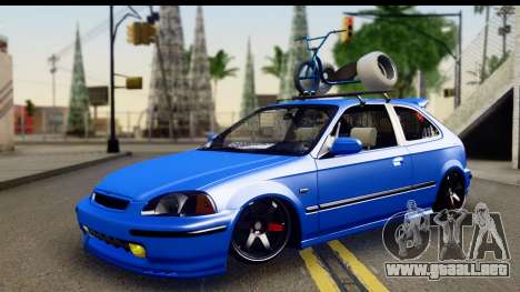 Honda Civic Hatchback para GTA San Andreas
