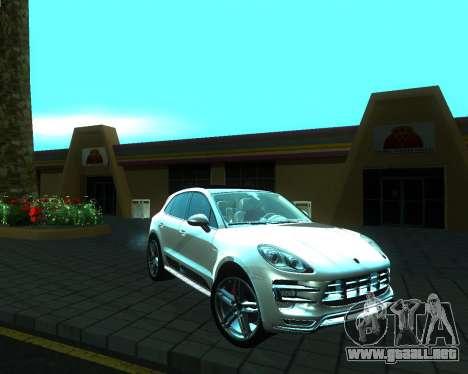 Porsche Macan Turbo para la visión correcta GTA San Andreas