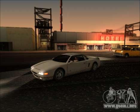 ENB Kiseki v1 para GTA San Andreas sucesivamente de pantalla