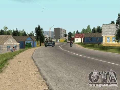 Prostokvashino para GTA Penal de Rusia beta 2 para GTA San Andreas segunda pantalla