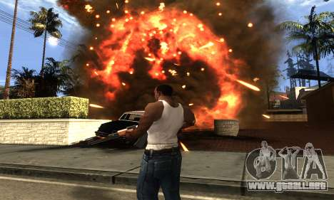 ENB Double Effect para GTA San Andreas quinta pantalla