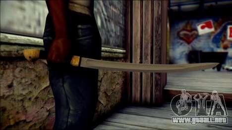 Red Army Shashka para GTA San Andreas tercera pantalla