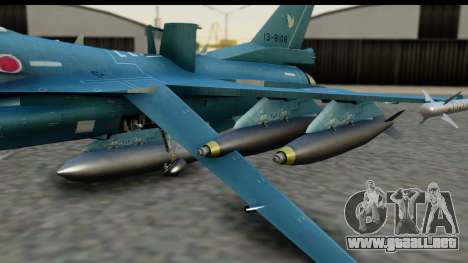 F-2A Viper Blue para la visión correcta GTA San Andreas