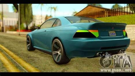 GTA 5 Ubermacht Zion XS IVF para GTA San Andreas left