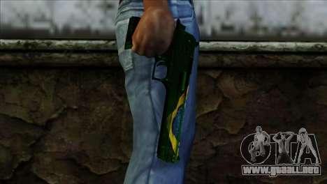 Desert Eagle Brazil para GTA San Andreas tercera pantalla