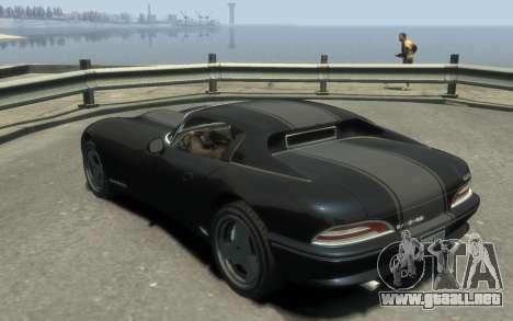 GTA 3 Bravado Banshee HD para GTA 4 left