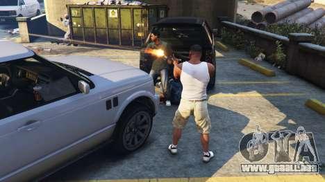 GTA 5 Lamar Missions v0.1a tercera captura de pantalla