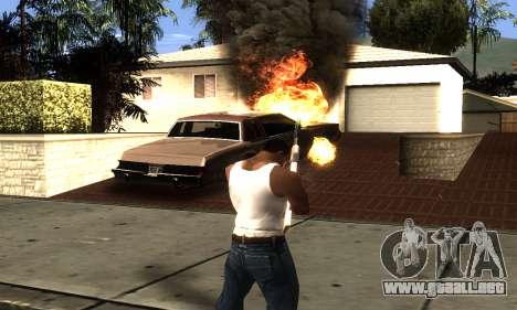 ENB Double Effect para GTA San Andreas sucesivamente de pantalla