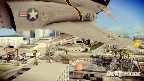 McDonnell Douglas F-4B Phantom II para la visión correcta GTA San Andreas