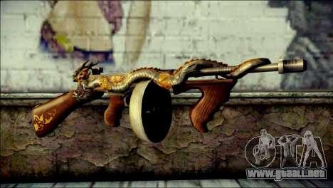 Thompson Infernal Dragon CrossFire para GTA San Andreas