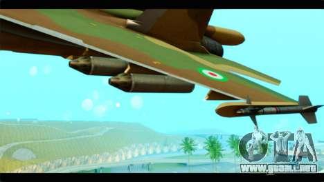 Sukhoi SU-34 IRIAF para la visión correcta GTA San Andreas