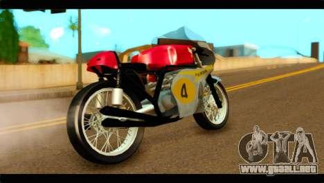 Honda RC 181 1967 para GTA San Andreas left