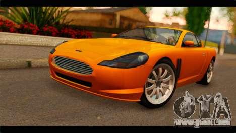 GTA 5 Dewbauchee Super GT para GTA San Andreas
