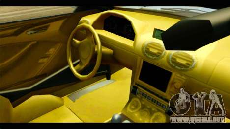 GTA 5 Ocelot F620 IVF para la visión correcta GTA San Andreas