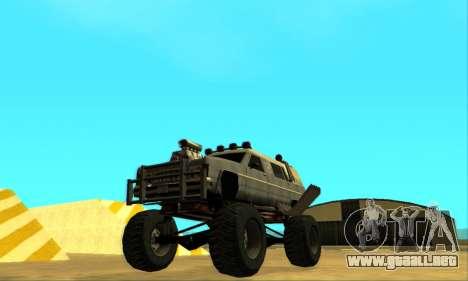 Hellish Extreme CripVoz RomeRo 2015 para las ruedas de GTA San Andreas