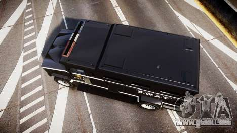 GTA V Brute Police Riot [ELS] skin 5 para GTA 4 visión correcta