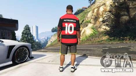 GTA 5 Flamengo T-Shirt - Camisa do Flamengo de 2000-01 tercera captura de pantalla