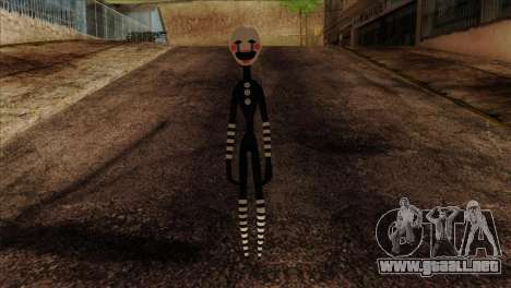 Puppet from Five Nights at Freddy 2 para GTA San Andreas