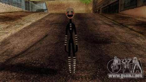 Puppet from Five Nights at Freddy 2 para GTA San Andreas