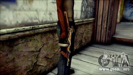 Thompson Infernal Dragon CrossFire para GTA San Andreas tercera pantalla