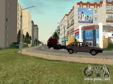 Prostokvashino para GTA Penal de Rusia beta 2 para GTA San Andreas sexta pantalla
