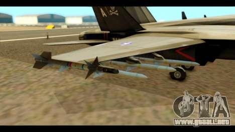 FA-18 Jolly Roger Black para la visión correcta GTA San Andreas